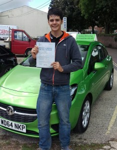 Driving-Lessons-Torquay-Tom Passes
