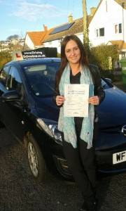 Driving Lessons Torquay, Paignton & Newton Abbot Rebecca passed her Driving Test 1st time with Driving Lessons in Torquay! Rebecca-Thomas-Neil-180x300