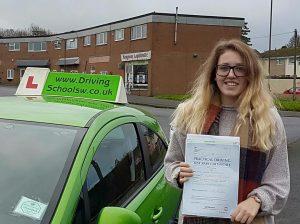 Driving Lessons Torquay, Paignton & Newton Abbot Well done Hannah. Hannah-300x224