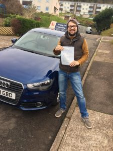Driving Lessons Torquay, Paignton & Newton Abbot Another First Time Pass! Mark-225x300